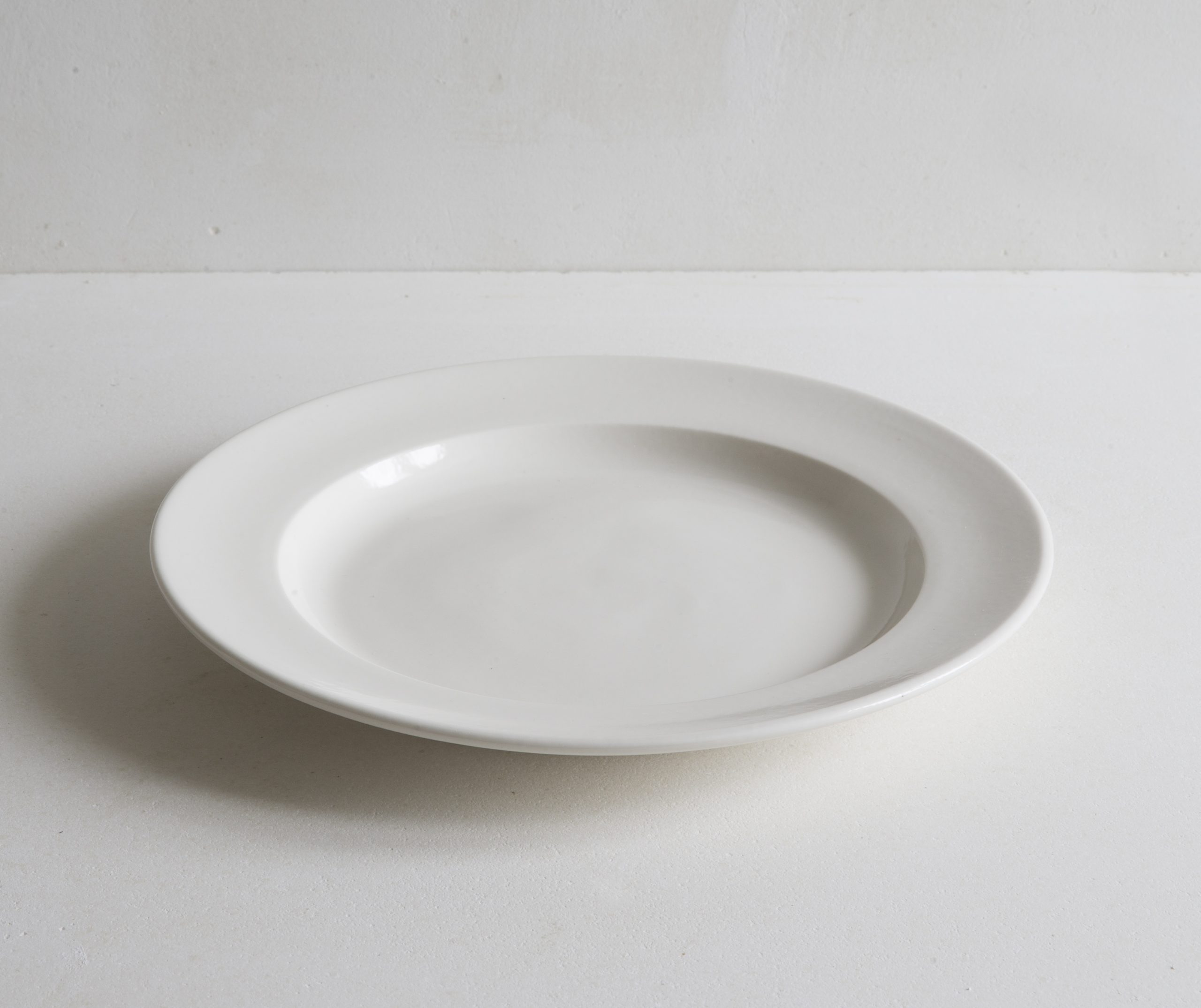 Classical Porcelain Dinner Plate 27cm Flat View
