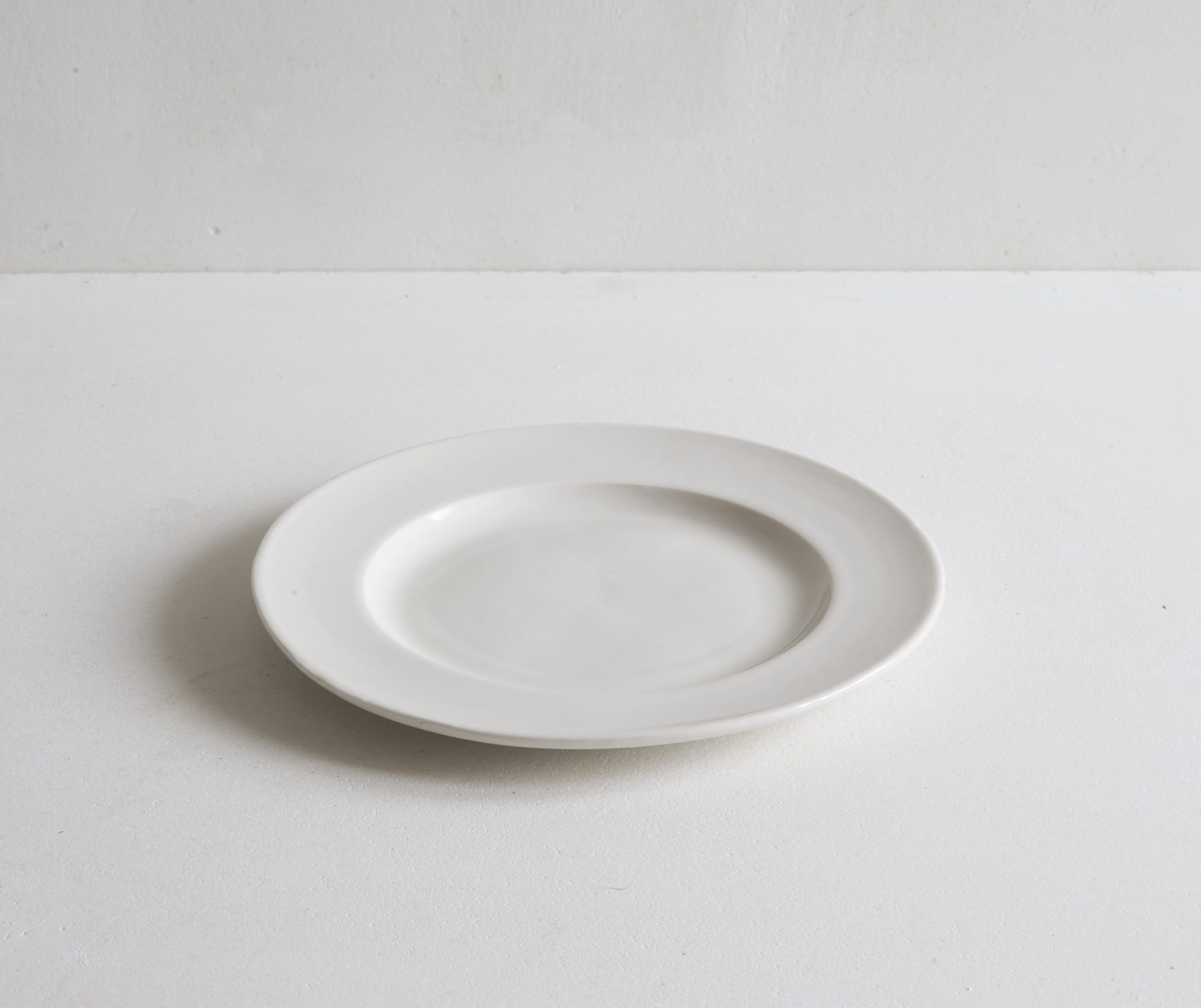 Classical Porcelain Side Plate Flat View