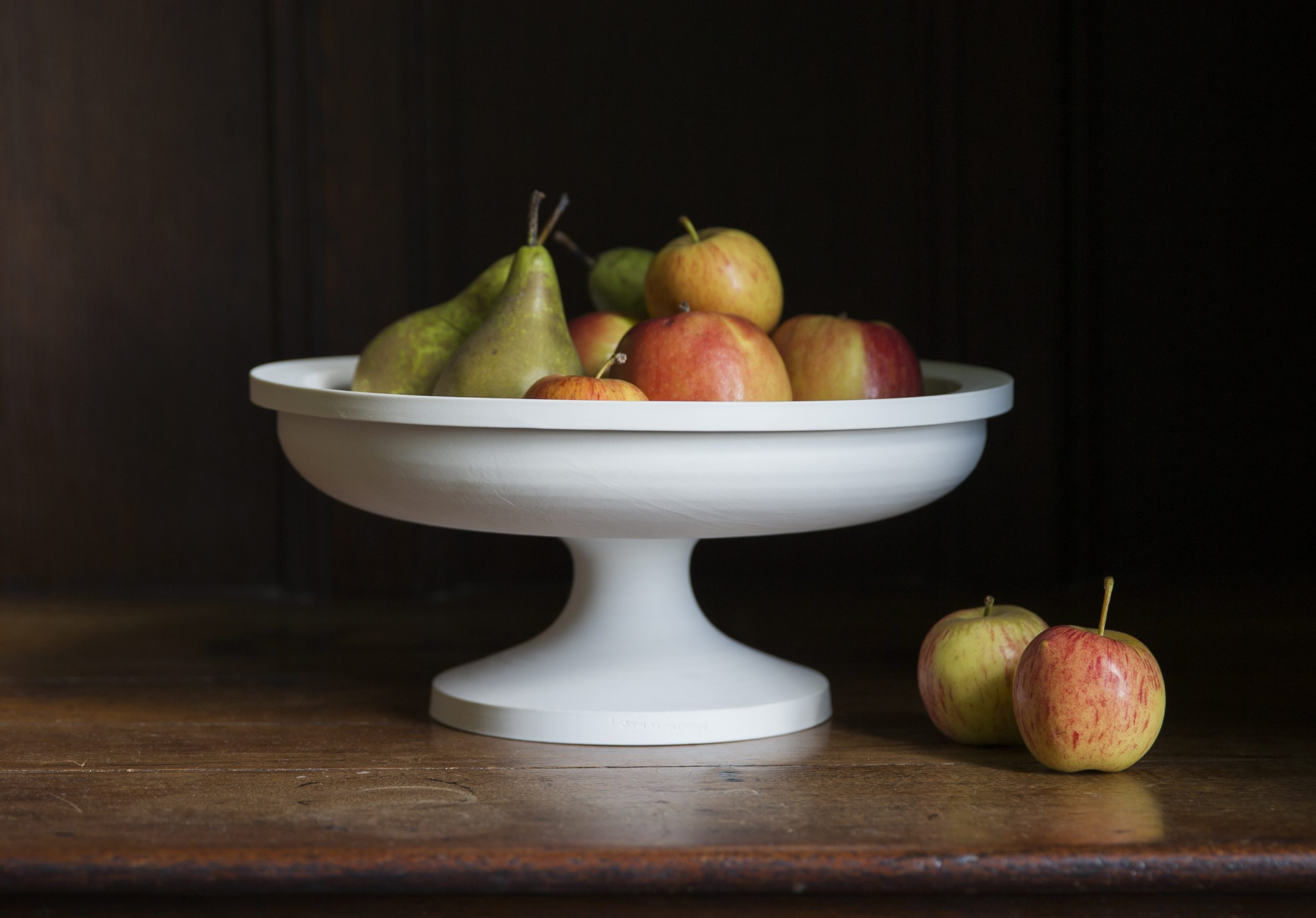 Porcelain Fruit Stand Classical Statement Piece