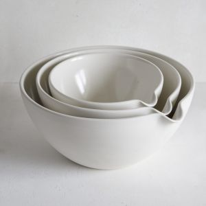 Mixing Pouring Bowl - set of 3 - large - 20, 25, 30cm